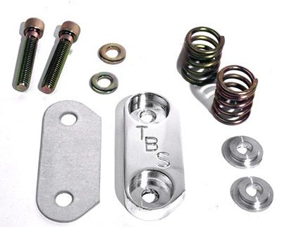 Pop-Off Plate With Springs